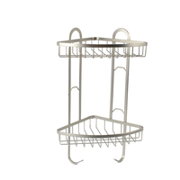 Wholesale 2 Tire Acrylic Mesh Bathroom Shower Caddy