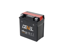 Motorcycle Part/12V 5A Dry Charged Maintenance Free Batteries (YTX5AL-BS)