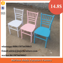 Hotsale Colorful Kids Children Tiffany Chiavari Chair