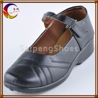 Wholesale Sewing Thread PU Material Children's Shoes