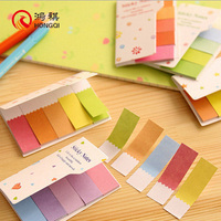 HQ010A Office stationery set school supply paper writing memo, paper writing pad, printing sticky note pad
