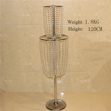 Star spring gorgeous decorative tall wedding stages crystal pillars for wedding