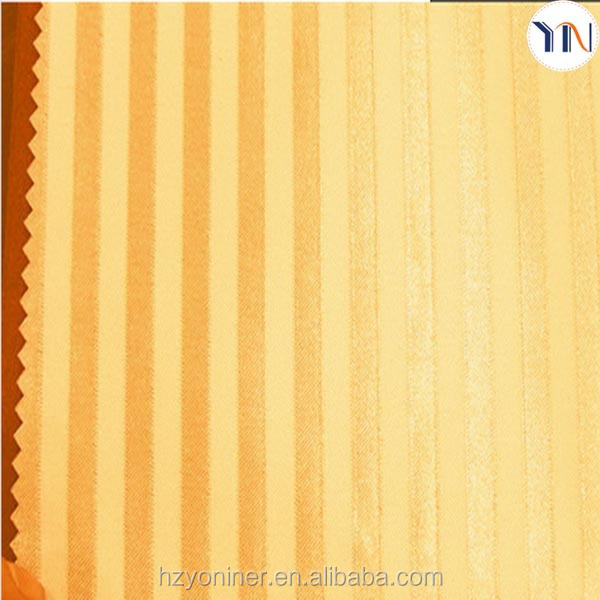 Home textile 100% Polyester shining strip shade cloth for window curtain wholesale fabric