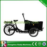 110cc three wheel tricycle cargo electric cargo bike for sale