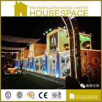 Well-designed High Quality Luxury container shopping center for Sale