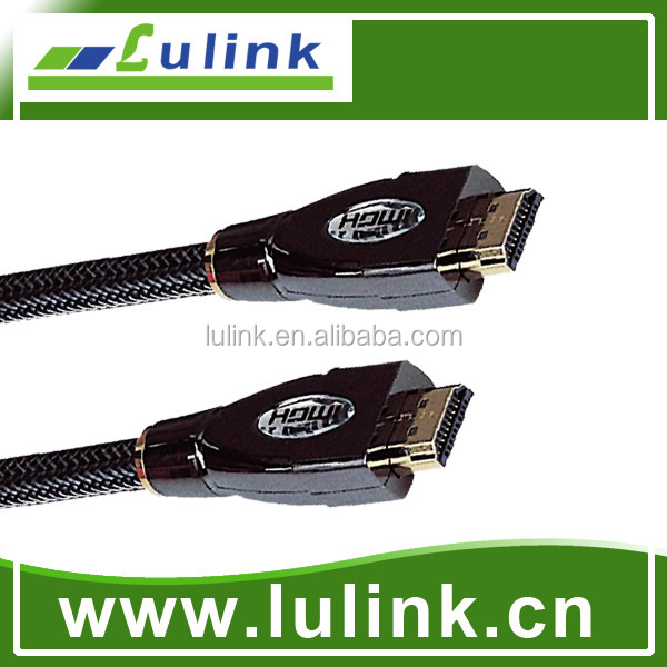 HDMI cable male to male 19pin 1080P 1.4V gold plated