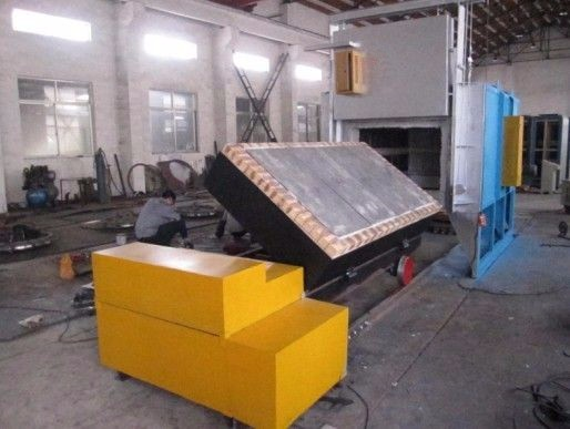 All fiber Trolley Electrical Resistance Heating treatment Furnace