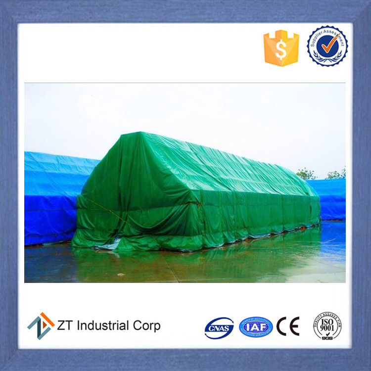 PVC tarpaulin PVC coated fireproof and waterproof fabric for storage cover