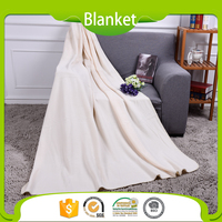 Solid Colored Unique Textured Fleece Organic Baby Swaddle Blanket