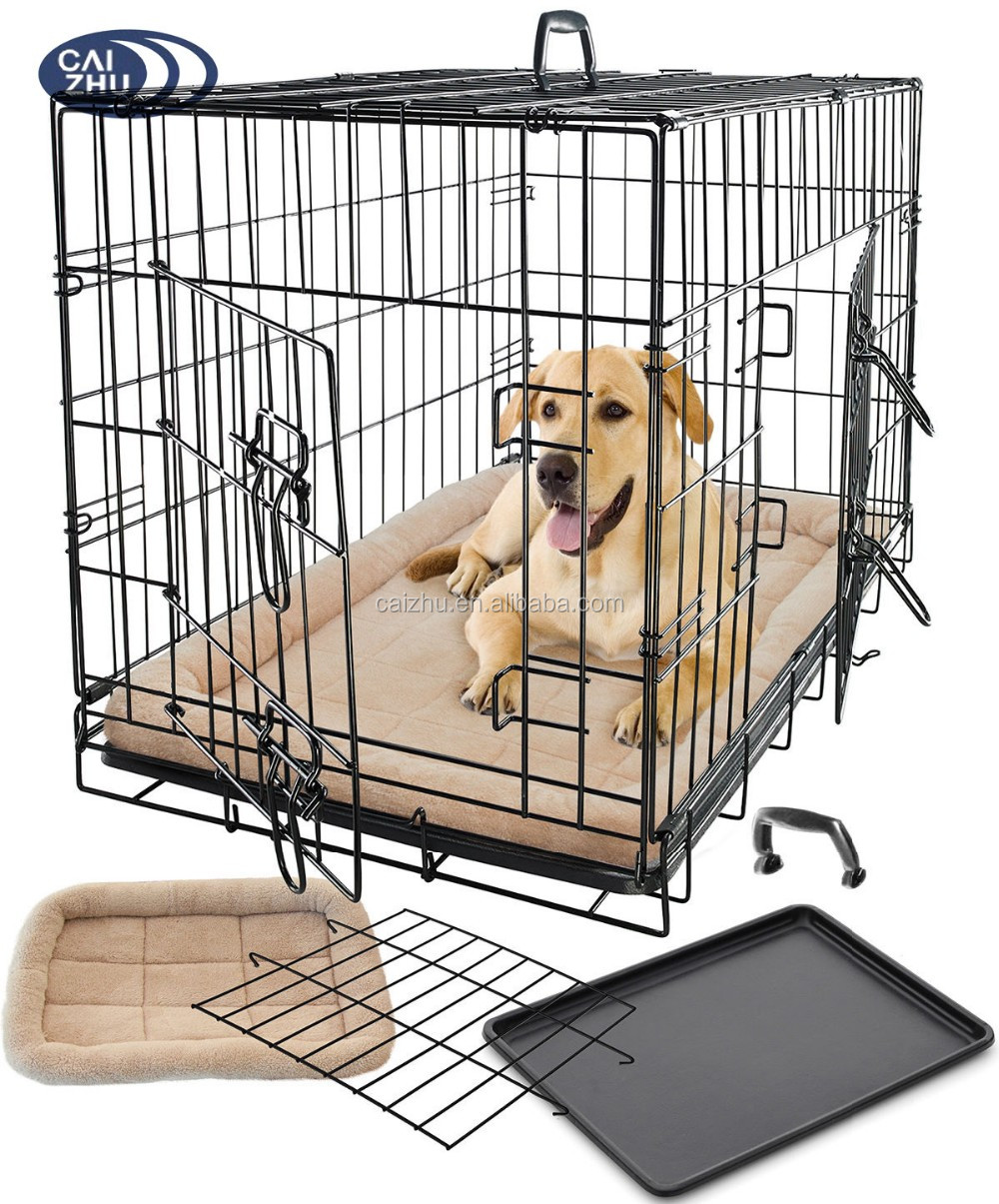 Wholesale Unique Iron Fence Dog Kennel And Metal Wire Dog Cage