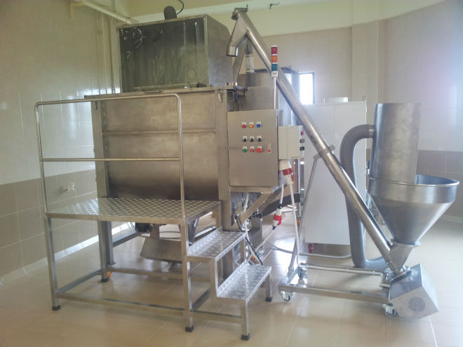 Fully Automatic Powder Transfer Line;