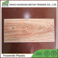 PVC Wood Grain Decorative Sheet PVC Flooring