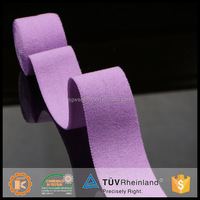 Refined individuation spandex colorful 1.5 inch elastic band for underwear from China factory