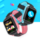 2018 Kids Waterproof Smart Watch GPS Tracker Sim Card Watch Anti-Lost Alarm Clock Smartwatch Remote Monitor Sos Children Smart