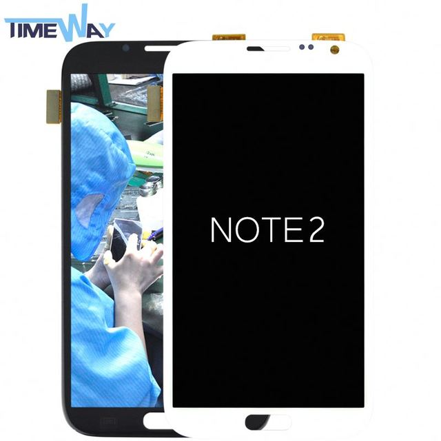 2017 Cheap price for samsung galaxy note 2 t889 lcd with digitizer assembly,display for samsung note 2 lcd complete