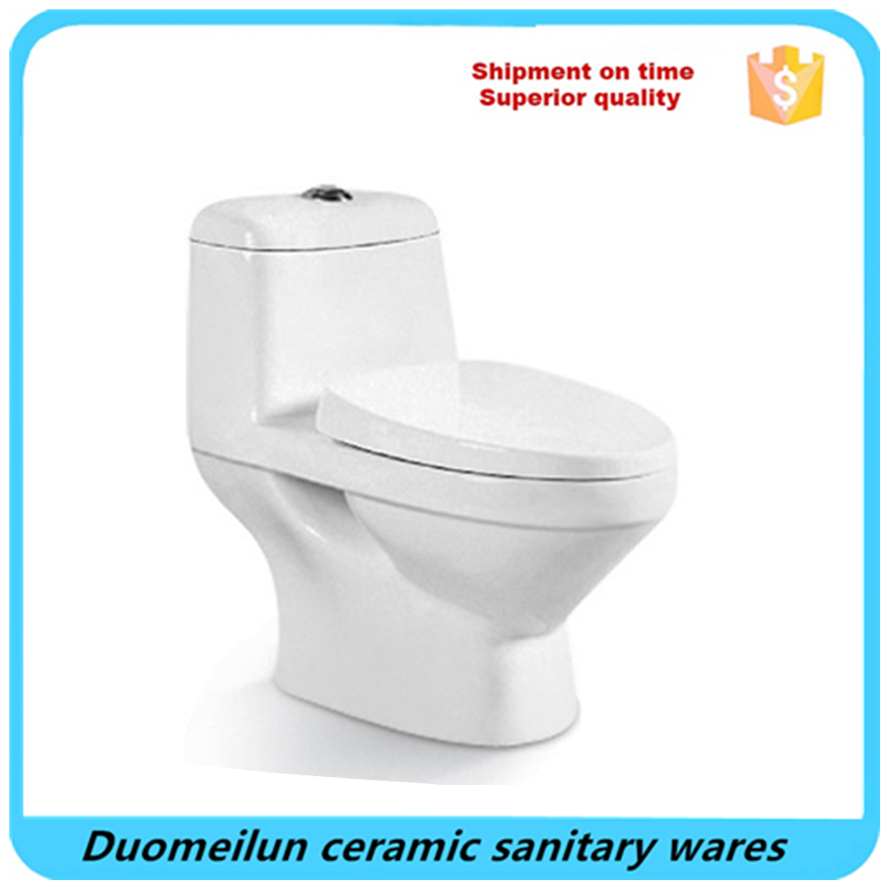 China bathroom porcelain handicapped one piece toilet wc closet