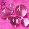 High Precision Dimension Resin Acrylic Clear Balls used as Precision crafts accessories