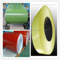 High quality 0.4mm PPGI/PPGL color coated steel coil building materials