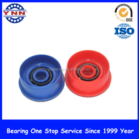 High quality Deep groove ball bearing Plastic coated bearing with the best price