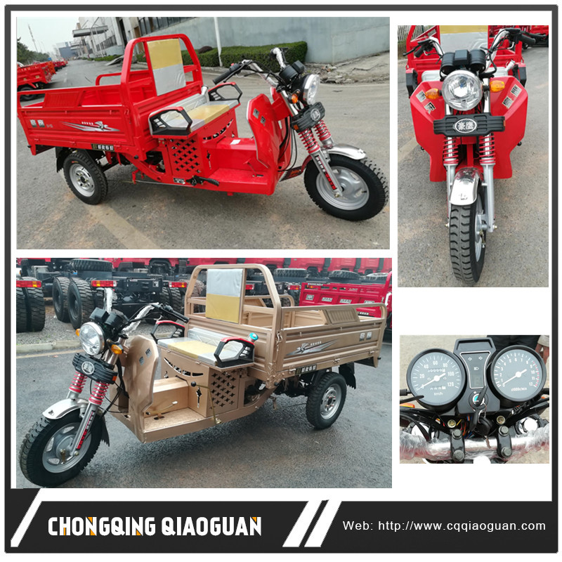 Mexico NO.1 Sale Tricycles for Adults 150CC Loading Motorcycle