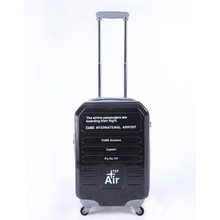 American pilots abs printed hard shell luggage