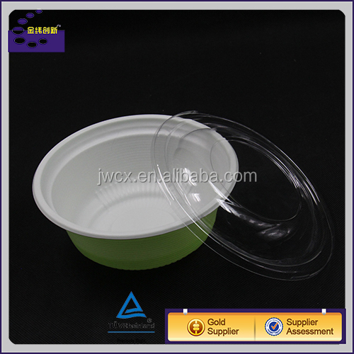 Disposable Plastic Noodle Bowls / Soup Bowl Pasta Bowl