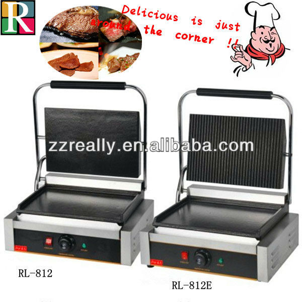 Superior quality OEM ce electric single contact grill toaster
