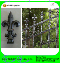 Wrought Iron Spear Top Metal Fence, Wrought Iron Fence Tops