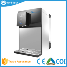 Digital Mini Desktop RO water dispenser purifier machine with hot and cold and Touch screen function