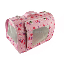 Wholesale price pink cat carrier pet accessories for small dog carrier bag