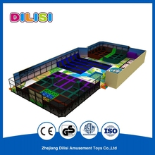 2017 Factory wholesale Used Jumping Bed for Kids, Commerical Indoor Trampoline