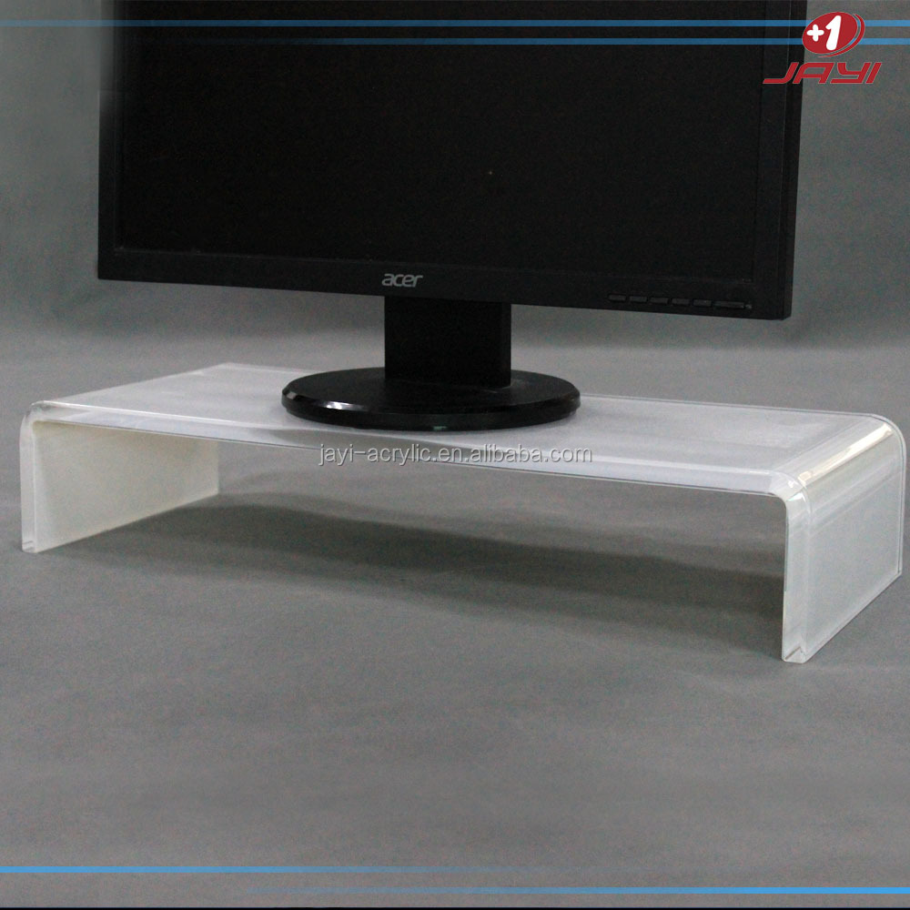 Alibaba golden supply High quality acrylic free standing computer stand