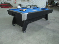 Shenzhen Double Star Sports Goods Co.,Ltd.Blue top grade billiard table in black color made in china