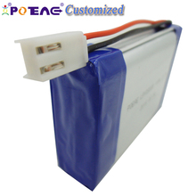 large size high capacity 10000mah 3.7v 105080 lipo li-polymer battery for medical device