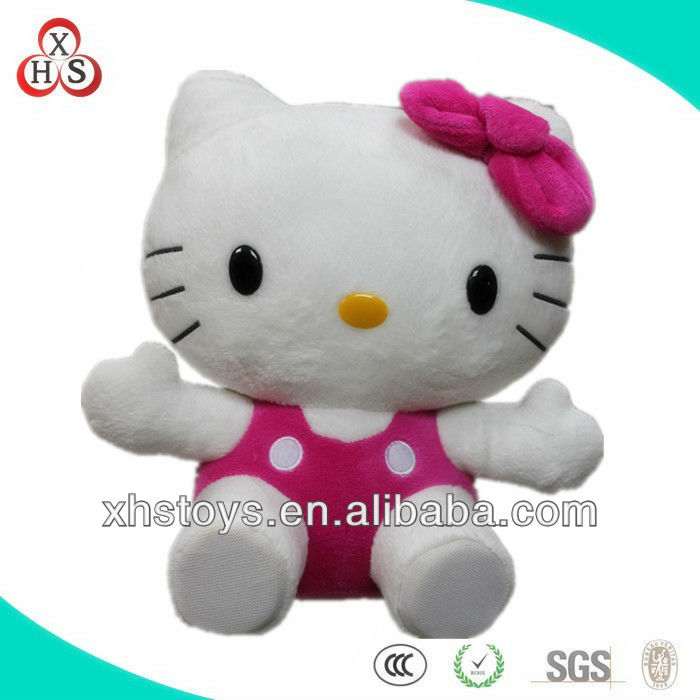 2014 wholesale cute fashionable hello kitty valentine's day gift plush toy