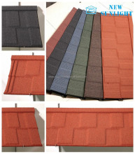 SONCAP stone coated roof sheet sand coated metal roof tile