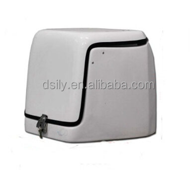Motorcycle/Scooter insulated fiberglass food delivery box motorcycle delivery box