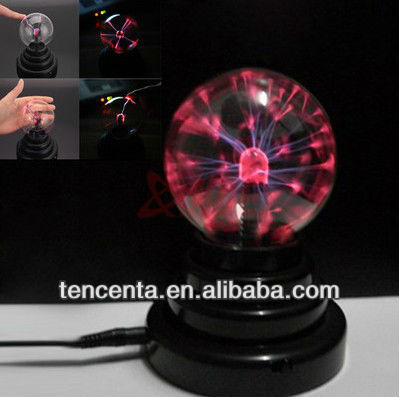 USB Plasma Ball Sphere Lightning Light Magic Crystal Lamp Desktop Globe Laptop