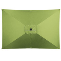 Rectangular Market Umbrella in Lime Green