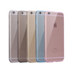 Newest Wholesale Mixed color TPU Ultra thin Silicon case for iphone 6s,Transparent cover for iphone 6s clear case