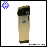 E-bike lithium battery 48V 13Ah bigger power Silver fish type battery