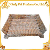 Rattan Dog Bed Natural Handmade Pet Bed High Strength Good For Pets Pet Beds & Accessories