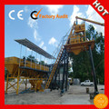 HQ HZS75 universal twin shaft horizitional concrete mixing plant