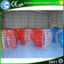 1.5m inflatable bubble ball suit bumper ball rent for sale