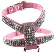 factory sale directly pet accessories hot model leather dog collar with crystal pet use