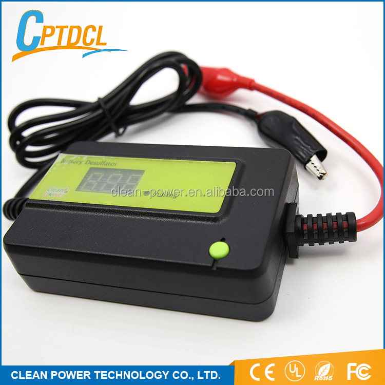 Good Supplier High Tech Charger Maintenance Free Car Battery Regenerator Lead Acid Battery Desulfator