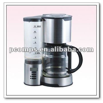 10-12cups drip digital display Coffee Makers