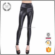 Fashion hot sell faux leather leggings for women