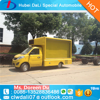 mini mobile food vending truck for sale