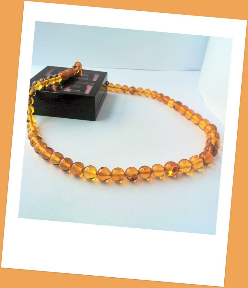 True Baltic Amber necklace